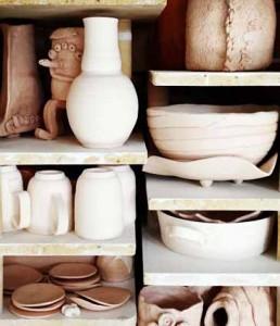 Pots in Kiln